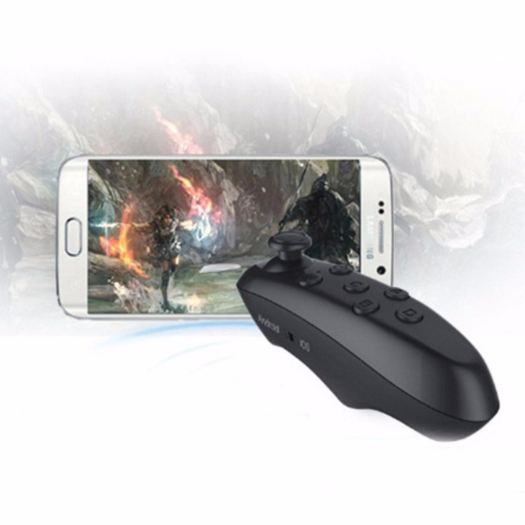 VR Box Bluetooth Smartphone Gamepad Controller - Black