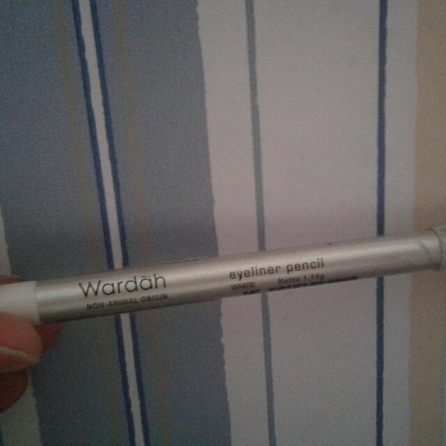 Wardah Eyelinner Pencil White