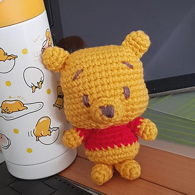 Winnie The Pooh Crochet Design Craft Handmade Craft On Carousell