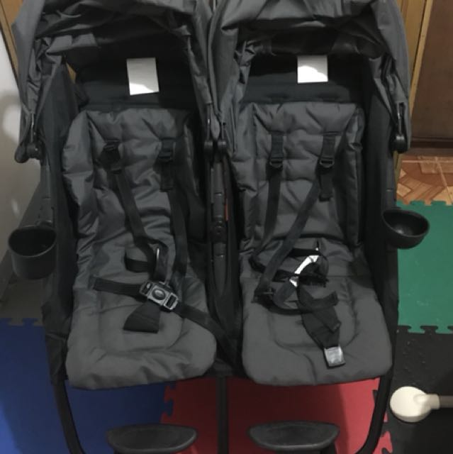Zoe Xl2 Double Stroller With Free Extra Wheels On Carousell