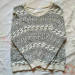 Korean sweater blouse