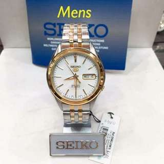 Authentic Mens Seiko Watch 💕