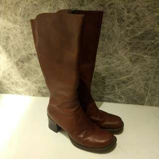 Timberland long boots 長靴 (size 7.5)