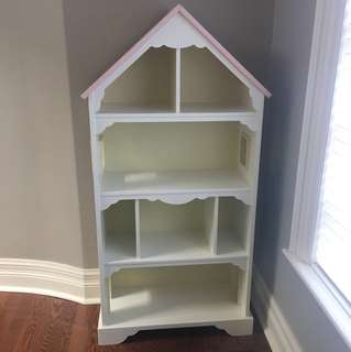 Pottery barn girls bookcase