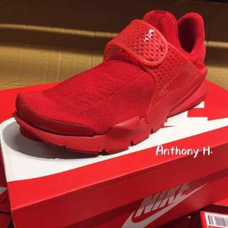 Nike Sock Dart KJCRD Triple Red 全紅