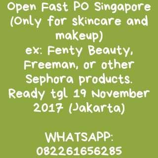 OPEN Fast PO Singapore