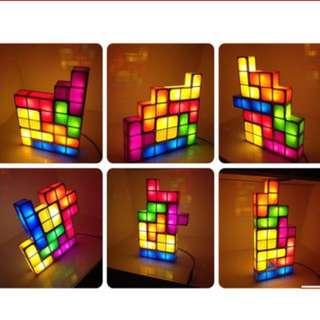 Tetris LED Magic Lamp