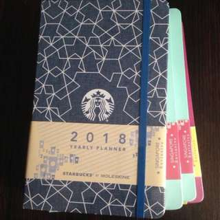 Singapore Exclusive Moleskine Starbucks Planner 2018