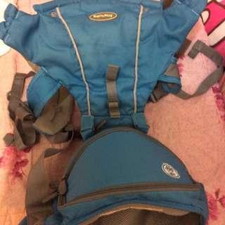 嬰兒腰凳背帶(藍色)#含運最划算