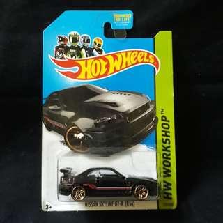 Hot Wheels Nissan Skyline GT-R R34 US Card