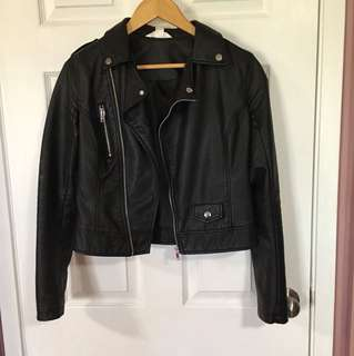 Urban Planet faux Leather Jacket (Small)