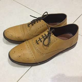 Kael Leather Oxford Shoes