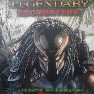 Legendary Encounters: A Predator Deck Building Board game