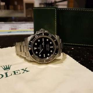 Rolex 114060 Submariner