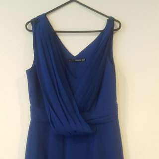 Blue Seduce Dress Size 10