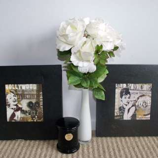 Marilyn and Audrey canvas