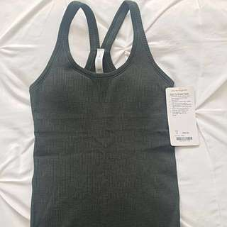 Lululemon built-in bra workout top - size 4