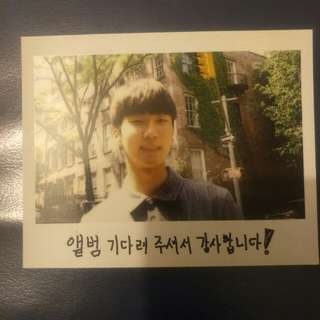 Winner seunghoon kpop debut album photocard