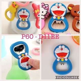 Doraemon Can Opener Magnet Nail Cutter Luggage Tag