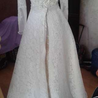 Wedding Gown 2in1