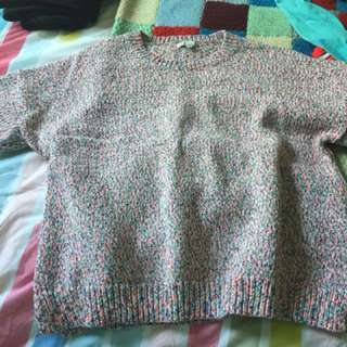 Kinted sweater kinda cropped