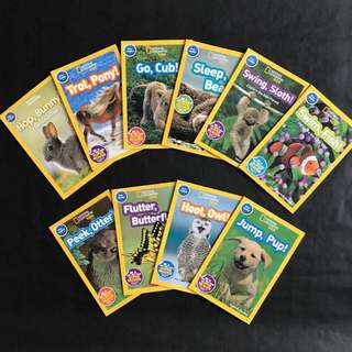 💥 NEW - National Geographic Kids - Pre Level - Set of 10 books