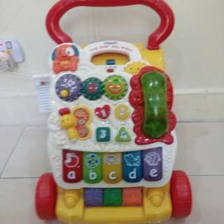 [Further, further reduced!!] V tech First Step Baby Walker