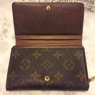 LV Louis Vuitton Monogram Wallet 短銀包