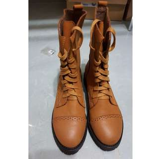 Leather Boot from mika
