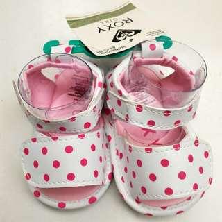 Roxy Girl Polka Baby Shoes Newborn 0-6