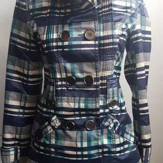Max Mara jacket vg + size M cotton protester SALE !