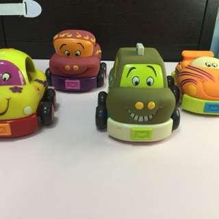 美國【B.Toys】寶寶安全迴力車