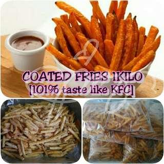 Taste Like KFC - Coated Fries (1kilo)