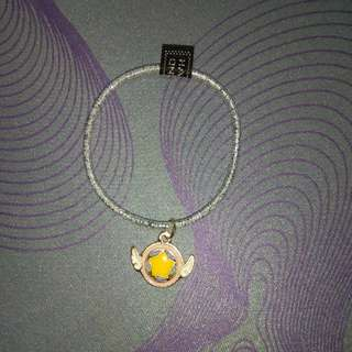 Adorable Cardcaptor wand bracelet/hair tie