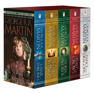 George R. R. Martin's a Game of Thrones 5-Book Boxed Set (Song of Ice and Fire Series) (Pre-order)