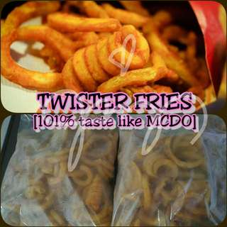 Taste Like McDo - Twister Fries