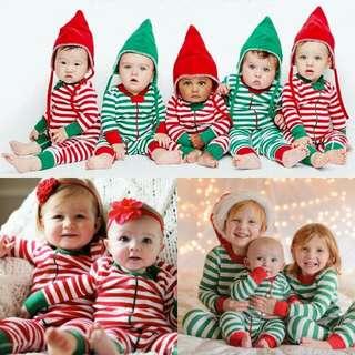New Baby Christmas Sleepwear Pajamas