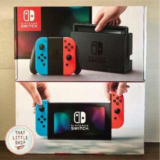 *100% NEW* Nitendo Switch Console Set