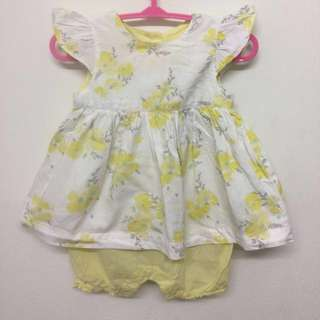 Romper Baby Dress (Mothercare)