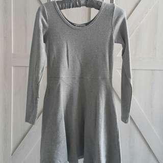 韓國帶回 全新厚棉長袖洋裝(免運)