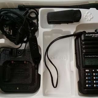 Baofeng waterproof dual band radio
