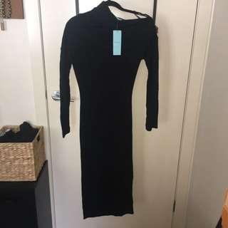 Kookai Merino Wool Midi Dress