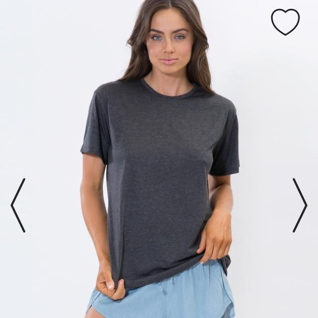 100% cotton XS charcoal top