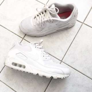 Air Max All White Leather