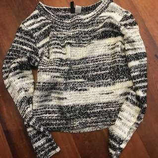 Divided Wooly Sweater