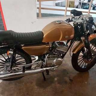 Rxk cafe racer 135cc