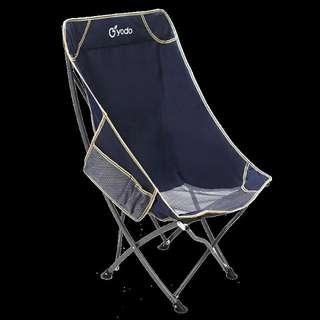 高背月亮椅 藏藍