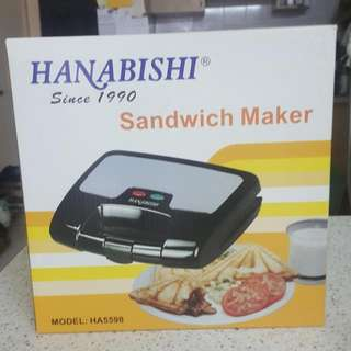 [USED] Hanabishi Sandwich Maker