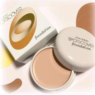 Shiseido Spotscover Foundation from Japan