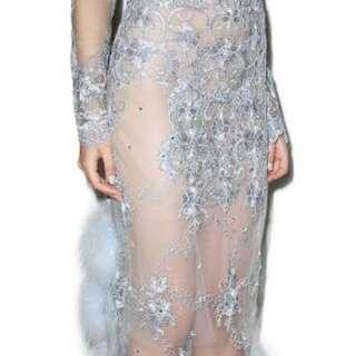 Dyspnea Blue Bubblegum Skirt -  Size S